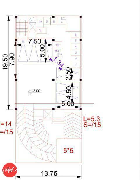 پاسخ طراحی معماری بهمن 94