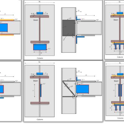 طراحی حالات متنوعی از اتصالات