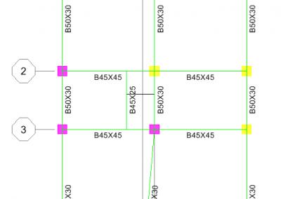 پلان پوشش سقف در نرم افزار Etabs