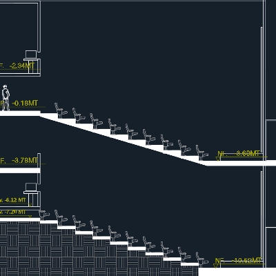 نمونه نقشه معماری سینما