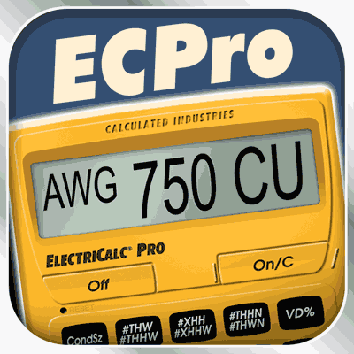 اپ اندروید ElectriCalc Pro Calculator 29.99$