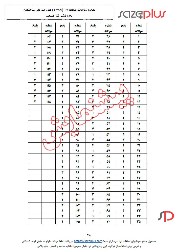 سوالات-مبحث-هفدهم-۱۳۸۹-لوله-کشی-گاز-طبیعی-۳
