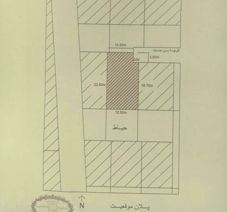 سوال آزمون طراحی معماری اردیبهشت ۹۷