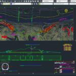 پیشنمایس نقشه اتوکد سد بتن غلتکی و جزئیات کامل مربوطه (۱)