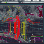 پیشنمایس نقشه اتوکد سد بتن غلتکی و جزئیات کامل مربوطه