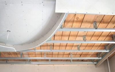 نصب سقف تخته گچی