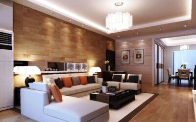 معماری داخلی فضای آپارتمانی