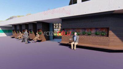 پروژه خانهی سالمندان؛ نما، برش، پلان، رندر