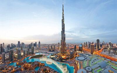 بلندترین برج جهان، برج خلیفه، برج دبی سابق