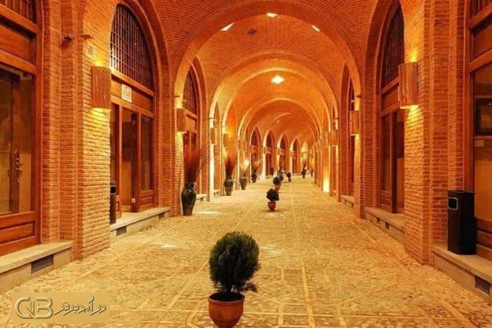 معماری بازار قزوین