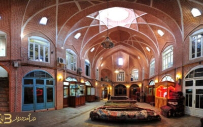 معماری بازارهای اسلامی و فضاهای بازار